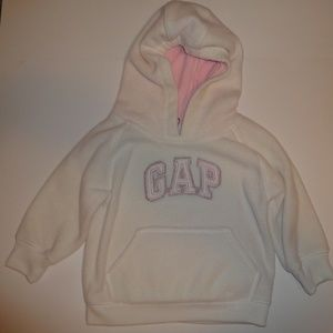 Gap Pullover Hooded Fleece Sweatshirt